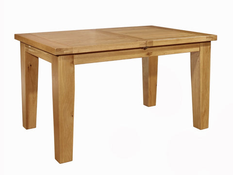 Oak Central Extending Dining Table