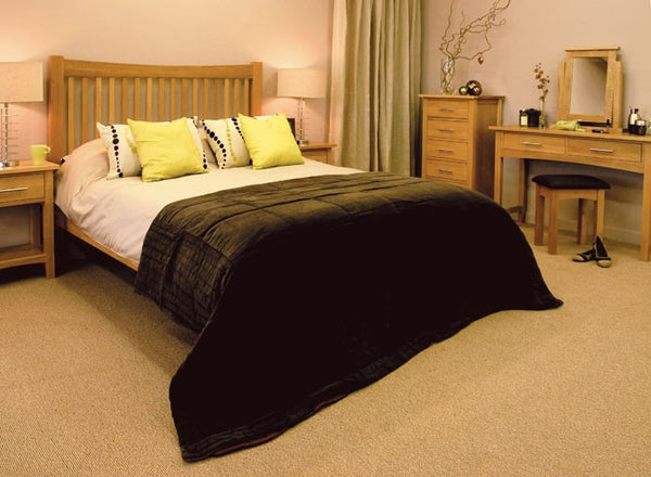Hawkhurst - Oak King Size Bed