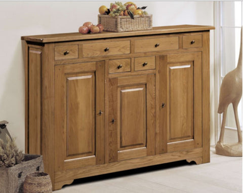 Harbour - 3 Door 6 Drawer High Sideboard