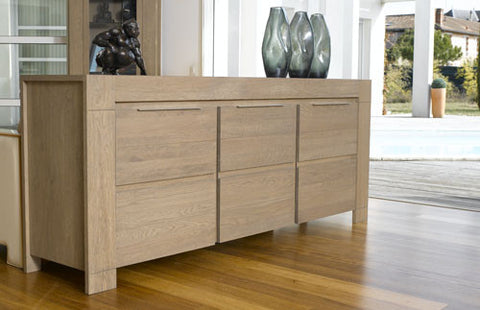 Allure 3 Door Sideboard