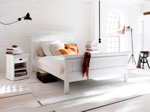 Painted King Size Bed