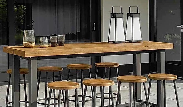 Outdoor Dining Furniture - Contrast Bar Table