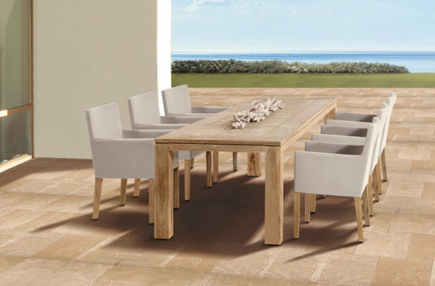 Oak Garden Table