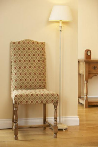 Cranbrook upholstered oak side chair scene