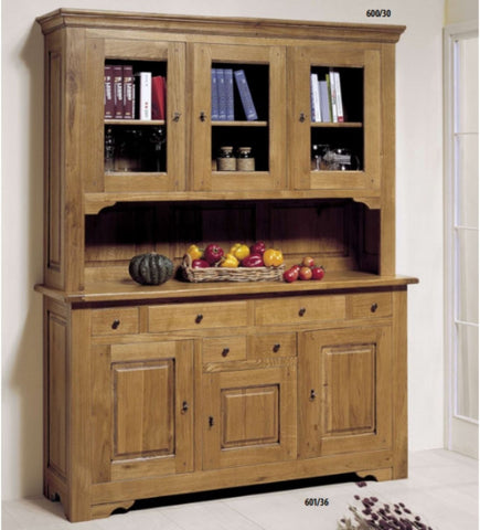 Tuscany - Solid Oak 3 Door Dresser