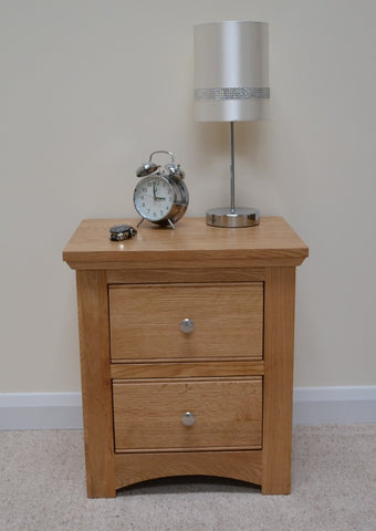 Kingsnorth- 2 Drawer Bedside Cabinet
