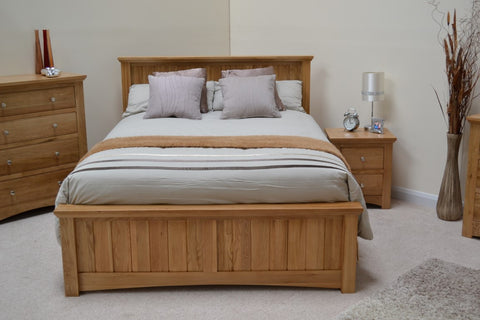 King Size Oak Bed