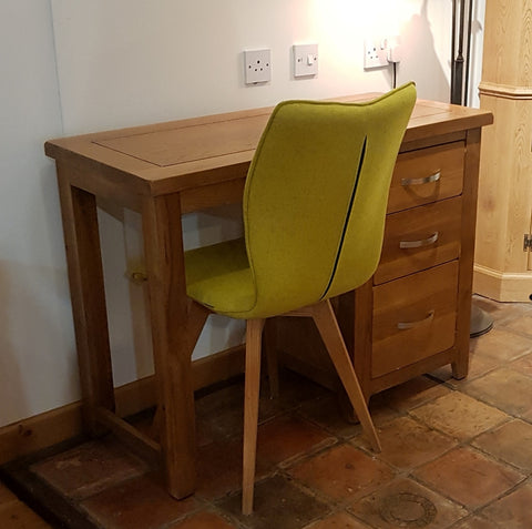 Clearance - Oak Dressing Table / Desk