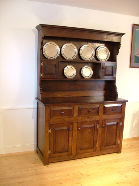 Sussex - English Oak Panelled Dresser