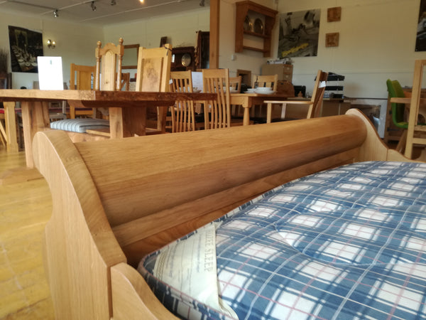 Tuscany - Sleigh Bed