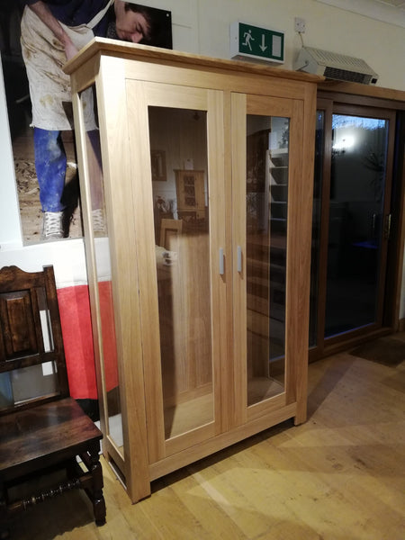 Tuscany - Contemporary Glazed Display Cabinet