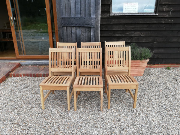 Outside Dining Furniture - Solid Teak Chair