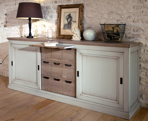 Oak Painted Sideboard