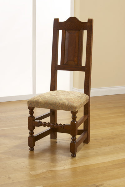 Sussex - English Oak 17C Side Chair