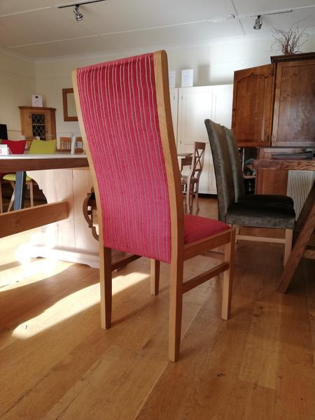 Lamberhurst oak framed side chair rear view