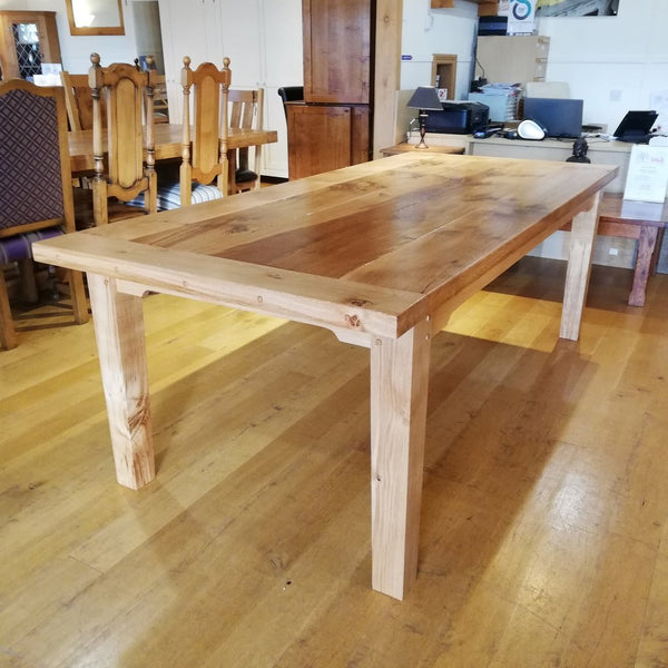 Large Sussex Farmhouse Oak Table 220 x 100