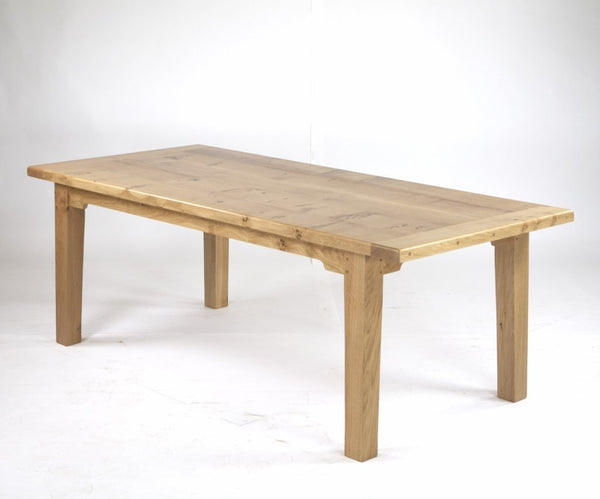 Sussex extending oak farmhouse dining table