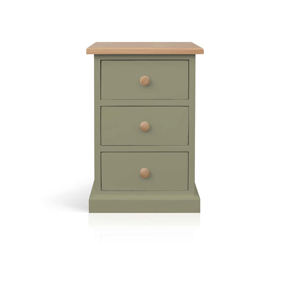 Mottisfont - 3 Drawer Bedside Cabinet