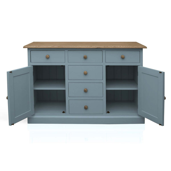 Mottisfont - Compact 6 Drawer Sideboard