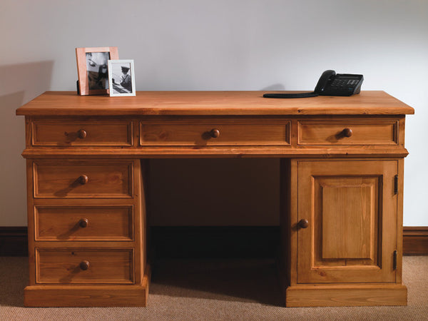 Mountfield - Twin Pedestal Desk