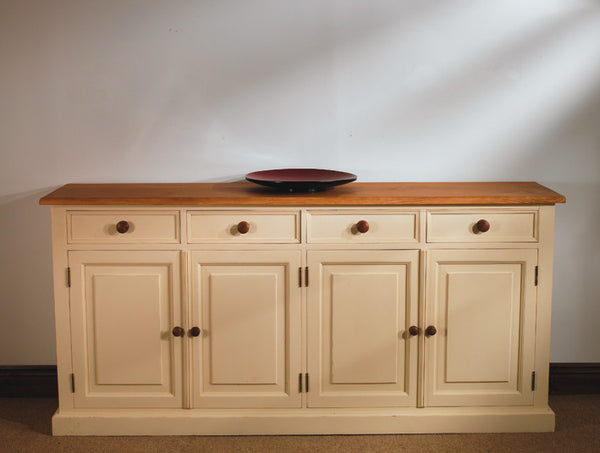Solid Pine Painted Sideboard