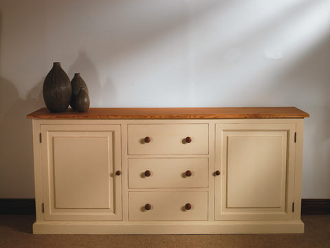 Painted Pine Sideboard
