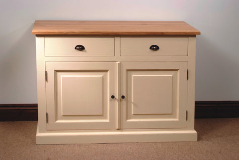Painted Pine Small Sideboard