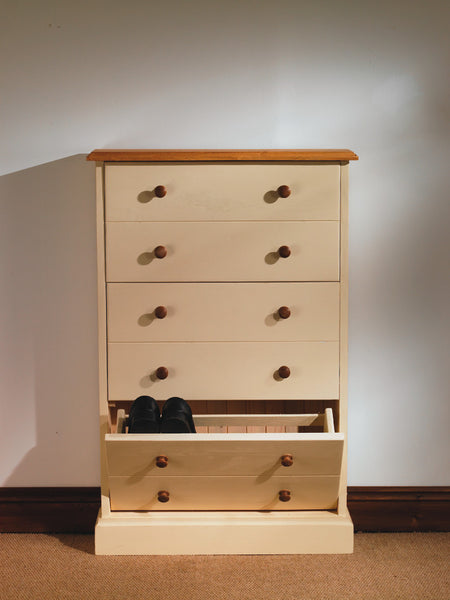 Large Shoe Rack Pine and Oak