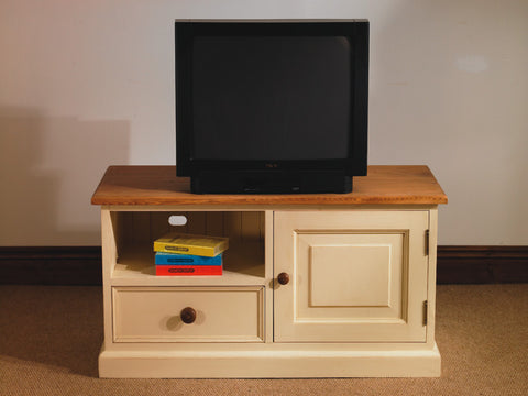 Painted Pine TV Unit