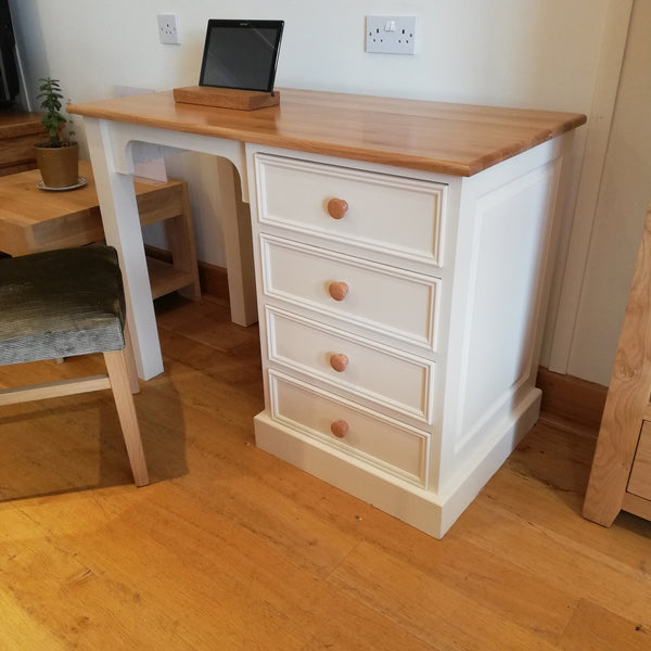 Clearance - Painted Pine Single Dressing Table