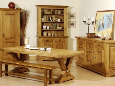 Normandy French Oak Bench Various Sizes