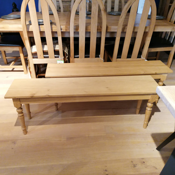 Clearance - Oak Bench