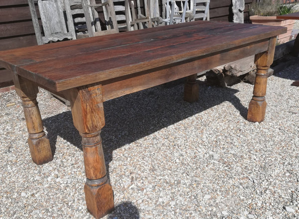 Oak refectory garden table