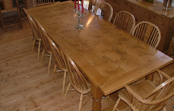 Oak Framed refectory Table Top
