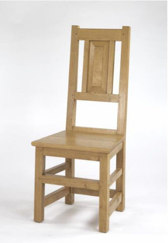 Panelled Oak Side Chair