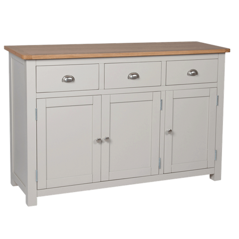Painted Sideboard oak top