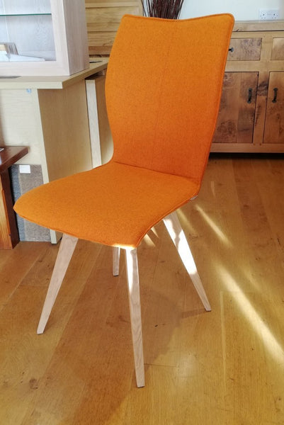 quadpod chair orange