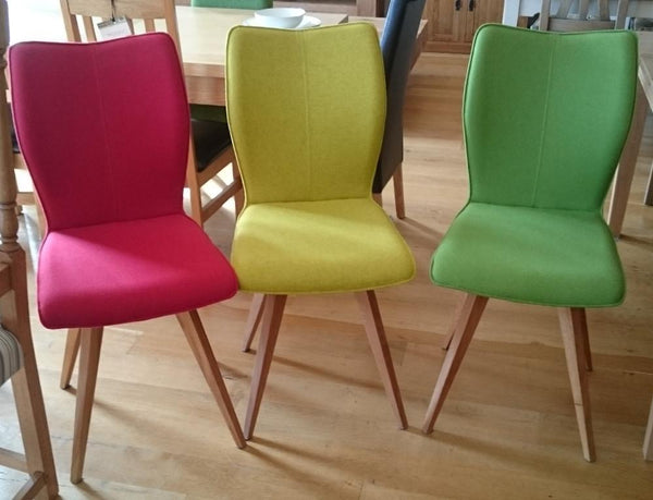 Quadpod dining chairs