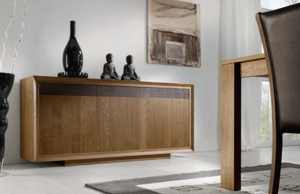 Tuscany Contemporary 3 Door Sideboard