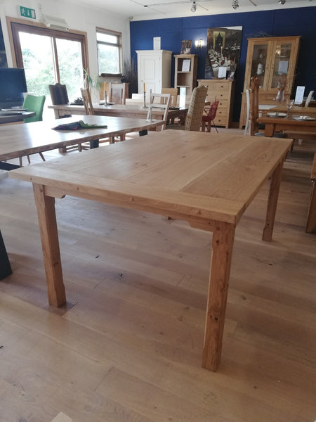 Small Sussex Oak Farmhouse Dining Table