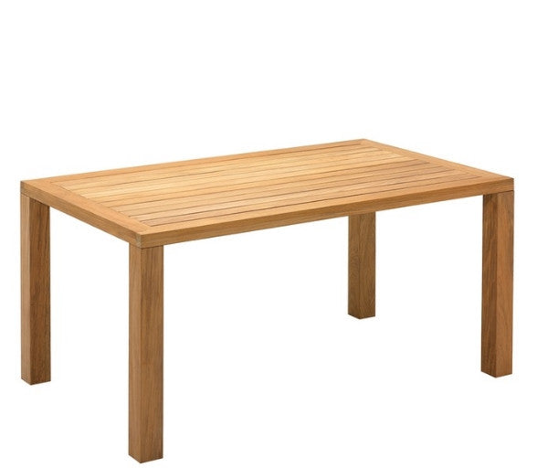 Outdoor Garden Furniture - Guestling Square Teak Table