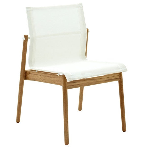 Outdoor Garden Furniture - Teak Stacking Chairs