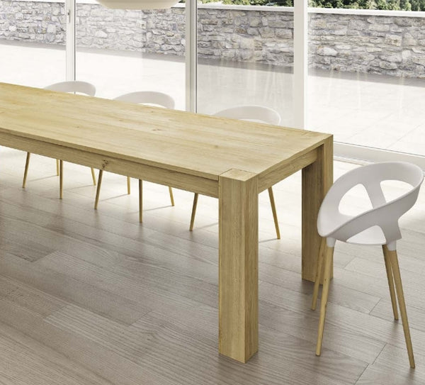 Tuscany Contemporary Extending Oak Store Table
