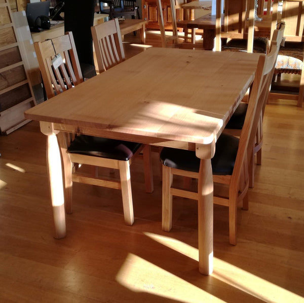 Sussex Farmhouse Oak Table Dining Set