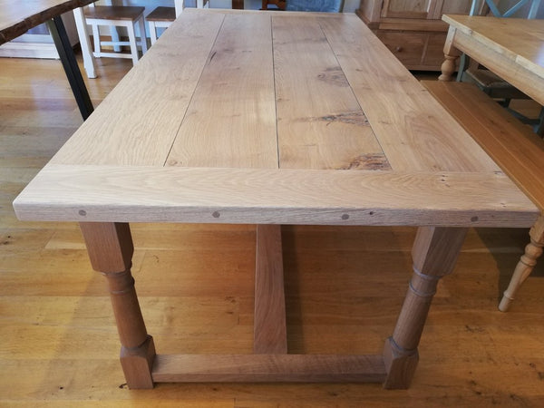 Sussex Fine Oak refectory Table Top