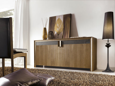 Tuscany Contemporary Sienna 2 Door Sideboard