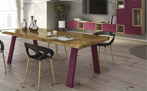 Tuscany Contemporary Scandinavian Resin Dining Table