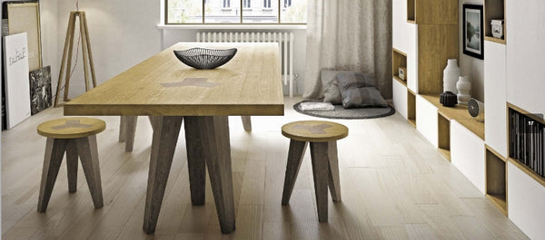 Tuscany Contemporary Tripod Dining Table