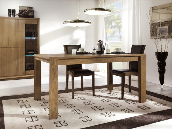 Tuscany Contemporary Sienna Centrally Extending Dining Table
