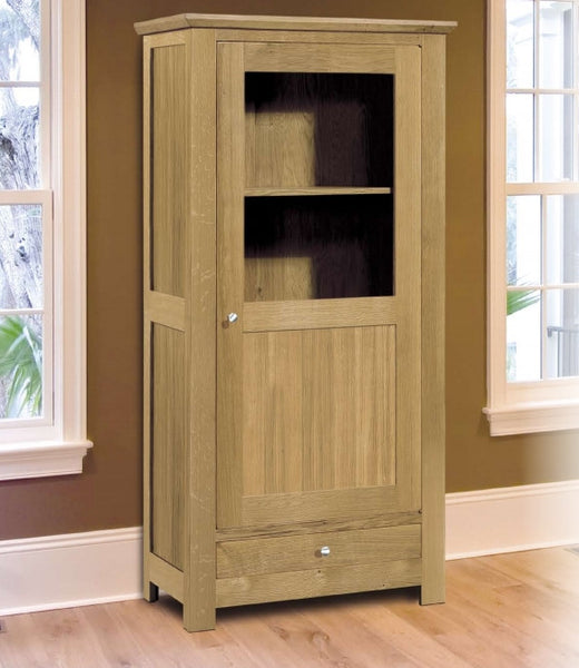Harbour - Contemporary Part Glazed Cabinet